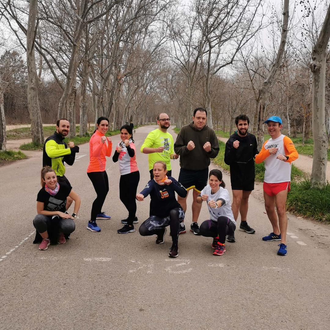 TRC - THE RUN CLUB - CLUB DE CORREDORES MADRID - COOREDORES - 21