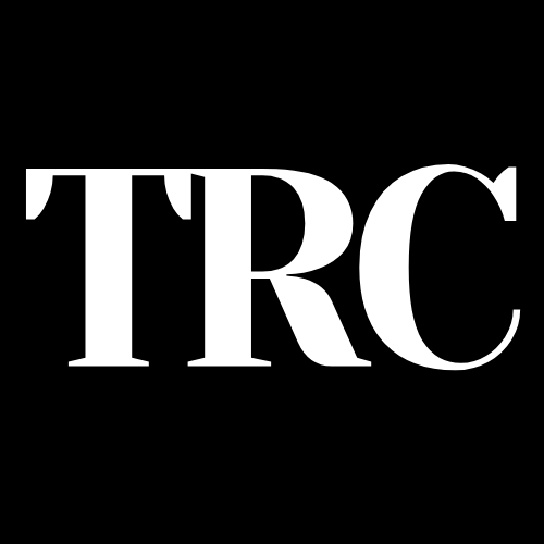 TRC - THE RUN CLUB - CLUB DE CORREDORES MADRID - LOGO INICIALES - NEGRO