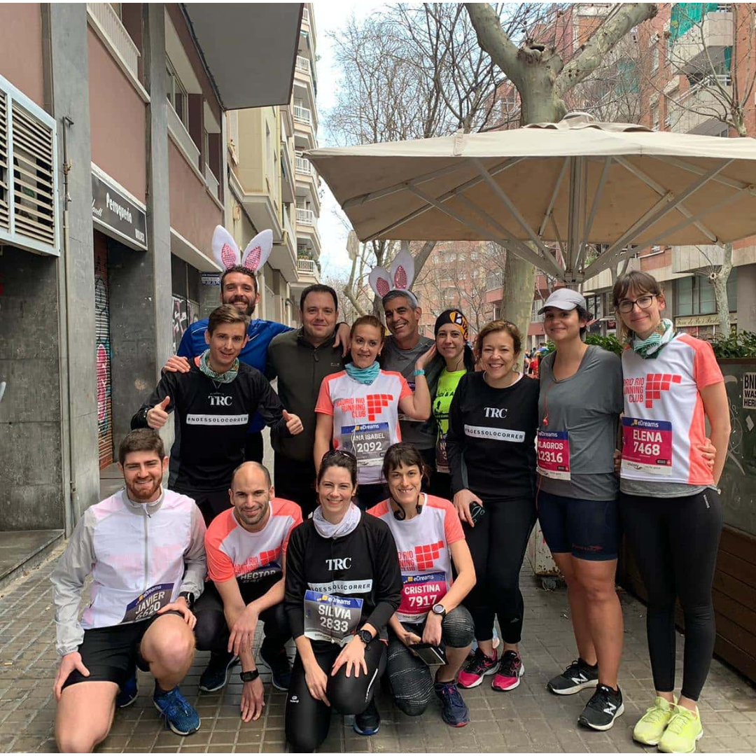 TRC - THE RUN CLUB - ENTRENAMIENTO MEDIA MARATON MADRID - 1
