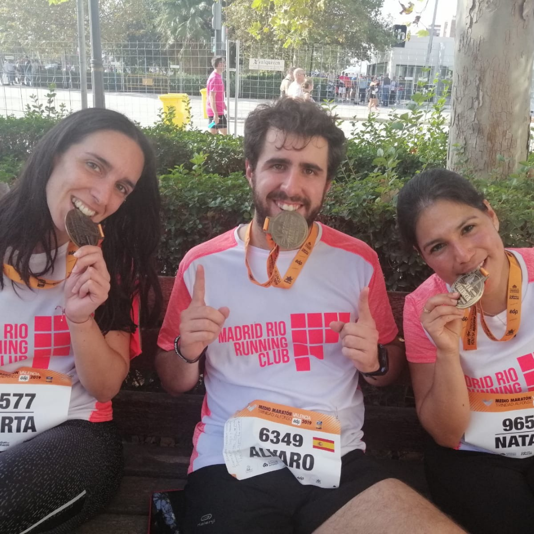 TRC - THE RUN CLUB - ENTRENAMIENTO MEDIA MARATON MADRID - 2