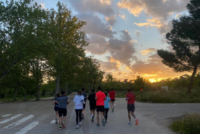 Club de Corredores Retiro - Correr por el estanque - TRC The Run Club